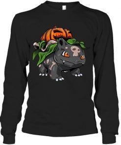 Fushigidane Bulbasaur Pumpkin Halloween Long sleeve