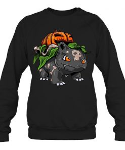 Fushigidane Bulbasaur Pumpkin Halloween Sweatshirt