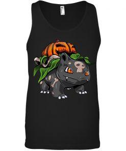 Fushigidane Bulbasaur Pumpkin Halloween Tank top