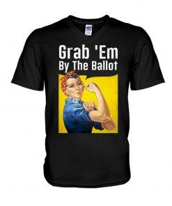 Grab 'Em By The Ballot v-neck
