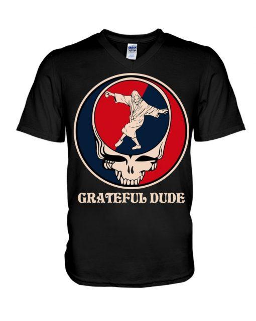 Grateful Dude Jesus V-neck