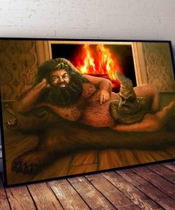 Hagrid sorting hat painting poster 0