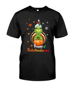 Happy Hallothanksmas Grinch shirt