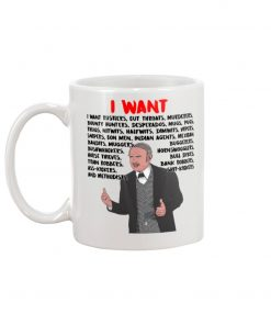 Hedley Lamarr I want rustlers cut throats murderers bounty hunters desperados mug