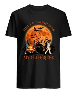 Hello darkness My old friend The Beatles - Abbey Road Halloween T-shirt