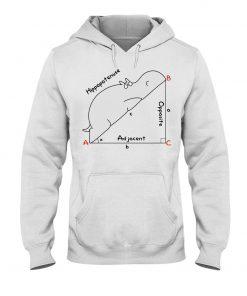 Hippopotenuse Math Geometry hoodie