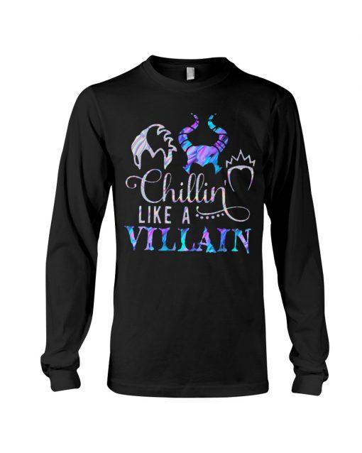 Hocus Pocus Chillin like a villain long sleeve