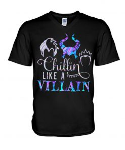 Hocus Pocus Chillin like a villain v-neck