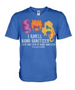 Hocus Pocus I smell hand sanitizer lots and lots of hand sanitizer teacher 2020 v-neck