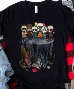 Horror Movie Characters water reflection shirt