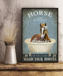 Horse Bath Soap Wash Your Hooves poster 2