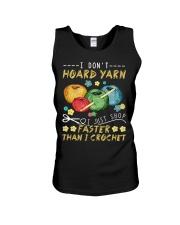 I don't hoard yarn I just shop faster than I crochet tank top