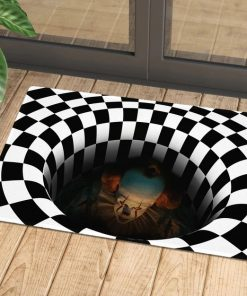 IT Pennywise 3D Hole Doormat1
