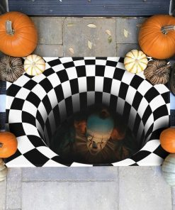 IT Pennywise 3D Hole Doormat3