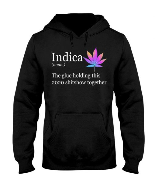 Indica definition The glue holding this 2020 shitshow together Hoodie