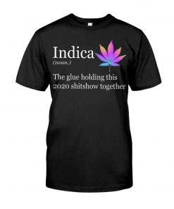 Indica definition The glue holding this 2020 shitshow together T-shirt