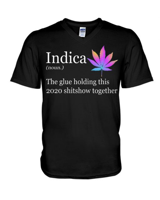 Indica definition The glue holding this 2020 shitshow together V-neck