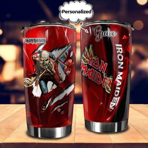 Iron Maiden personalized tumbler