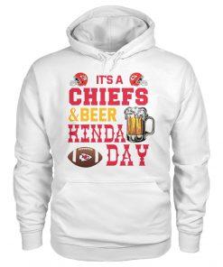 It's Chiefs or beer kinda day Hoodie