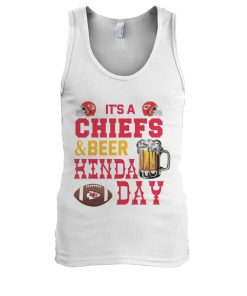 It's Chiefs or beer kinda day Tank top