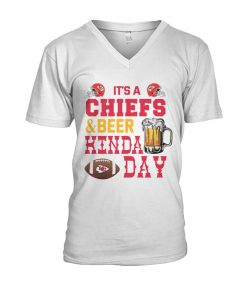 It's Chiefs or beer kinda day V-neck