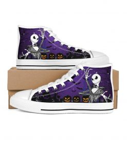 Jack Skellington Halloween High Top Shoes