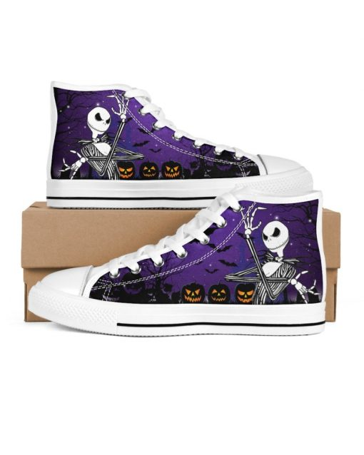 Jack Skellington Halloween High Top Shoes