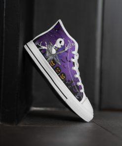 Jack Skellington Halloween High Top Shoes3