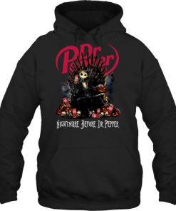 Jack Skellington Nightmare before Dr Pepper hoodie