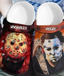 Jason Voorhees - Michael Myers Crocs Crocband Clog