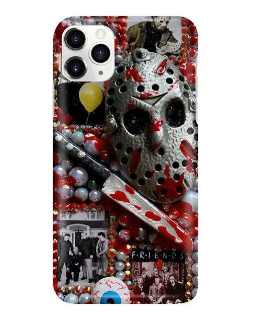 Jason Voorhees Michael Myers horror film characters phone case1