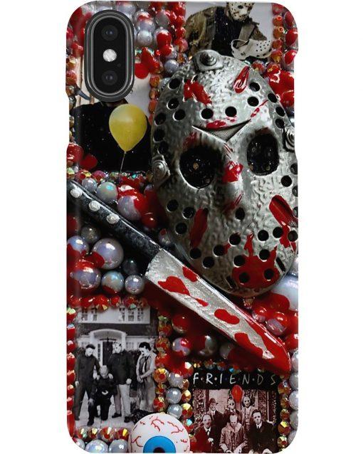 Jason Voorhees Michael Myers horror film characters phone case3
