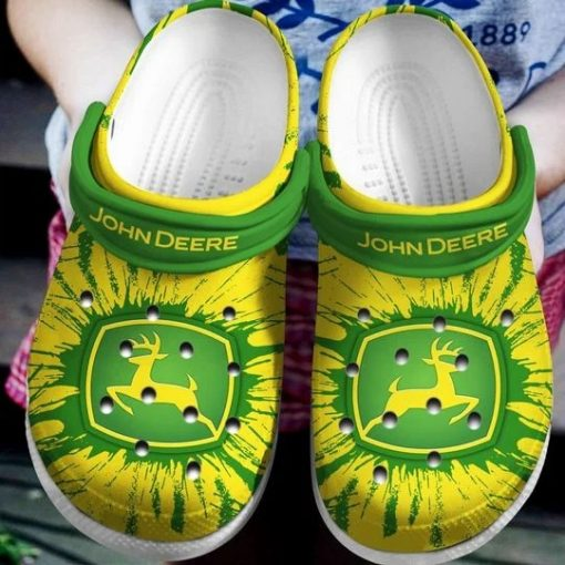 John Deere Crocs Crocband Clog