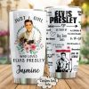 Just a girl who loves Elvis Presley personalized tumbler 0