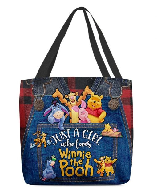 Just a girl who loves Winnie the Pooh tote bag1
