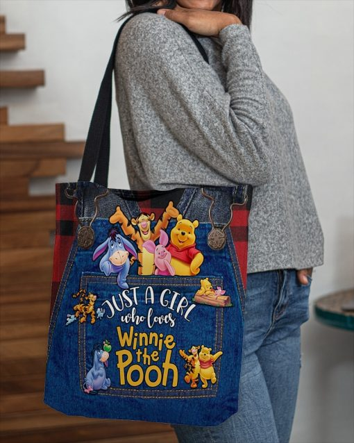 Just a girl who loves Winnie the Pooh tote bag4