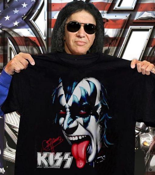 Kiss signatures shirt 0