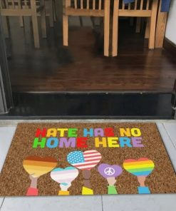 LGBT Hate Has No Home Here Doormat