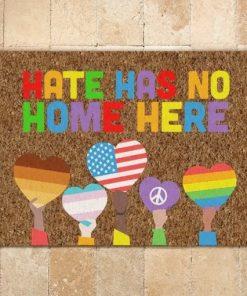 LGBT Hate Has No Home Here Doormat3