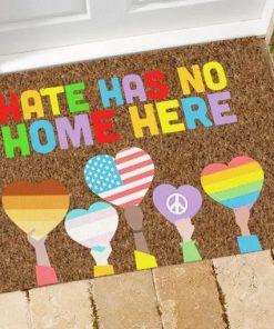 LGBT Hate Has No Home Here Doormat5