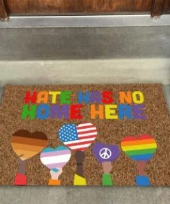 LGBT Hate Has No Home Here Doormat6