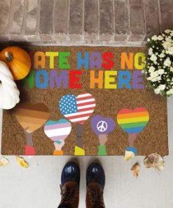 LGBT Hate Has No Home Here Doormat7