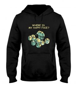 Lego Where is my happy face Hoodie