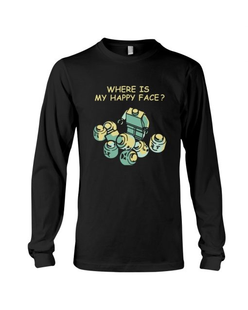 Lego Where is my happy face Long sleeve
