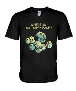 Lego Where is my happy face V-neck