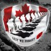 Lest we forget Canada face mask