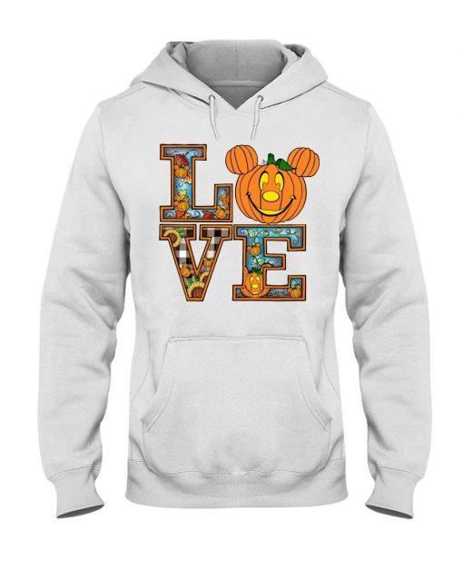 Love Pumpkin Halloween Hoodie