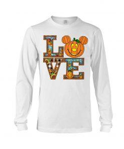 Love Pumpkin Halloween Long sleeve