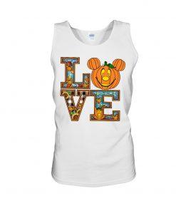 Love Pumpkin Halloween Tank top