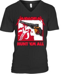 Mandalorian Hunt 'Em All V-NECK